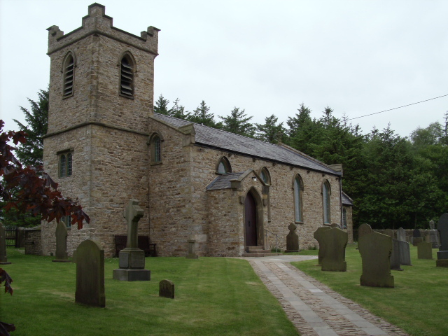 This week's old church picture, St Eadmer's of Admarsh - In _Bleasdale.