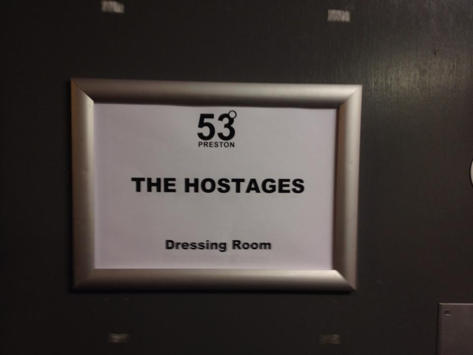 Lavish backstage dressing room, 53 degrees, 25/07/2014.