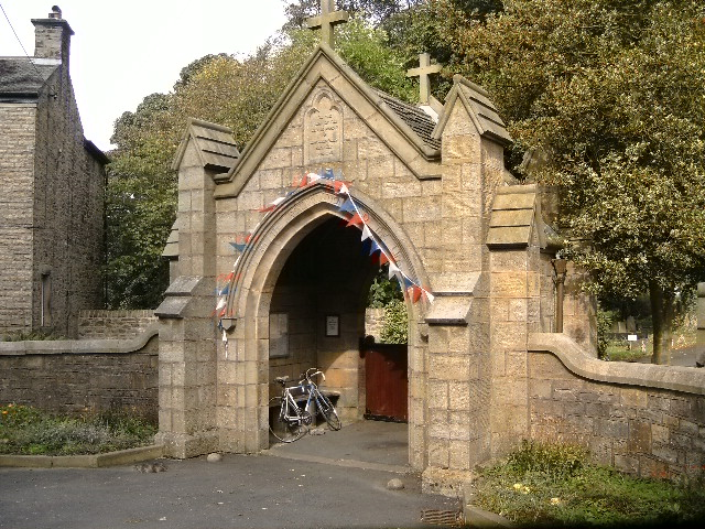 We've already had TWO church pictures and I don't want you to think I'm overly obsessed, so here's the lychgate for St Stephens, Tockholes.